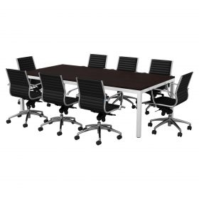 Cubit-Conference-Table-2400x1200-Eclipse-Chairs-White-frame-Table