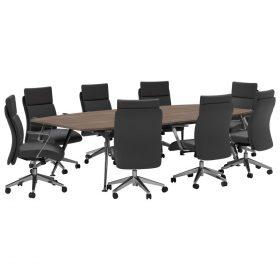 Profile-Rectangular-Table-Divine-Oak-Worktop-Lotus-Midback-Chairs-Table