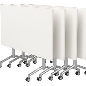 Velocity-Flip-Top-Table-Chrome-Frame-White-Worktops
