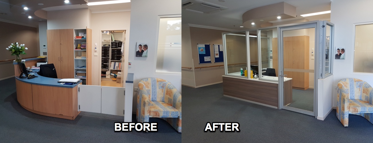 Before & After -Southern Cross Care Bateau Bay