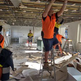 Demolition work @ Omeara Property, Nelson Bay