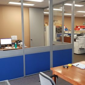 Office partitions Inlon Fountaindale
