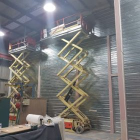 Weir Minerals Fire Rated Wall