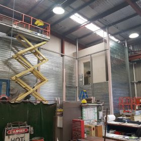 Weir Minerals Fire Rated wall(1)