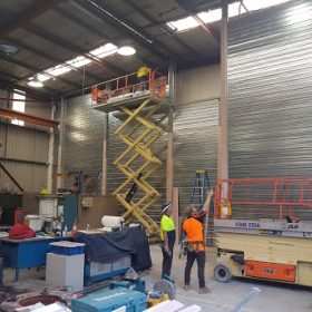 Weir Minerals Fire Rated wall(2)
