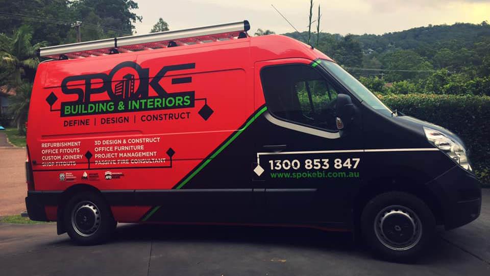 Brand new van