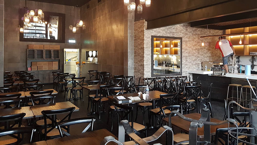 restaurant fitout and design central coast