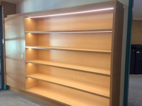 display shelving with integrated LED lights7