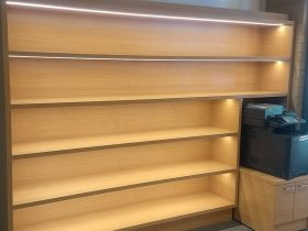 display shelving with integrated LED lights8
