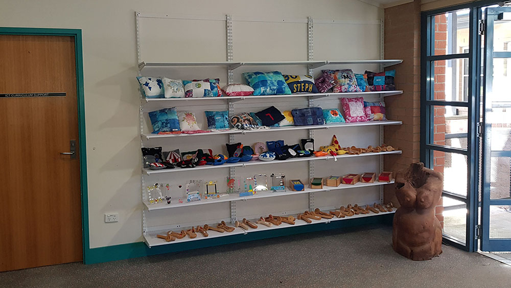 display shelving with integrated LED lights9