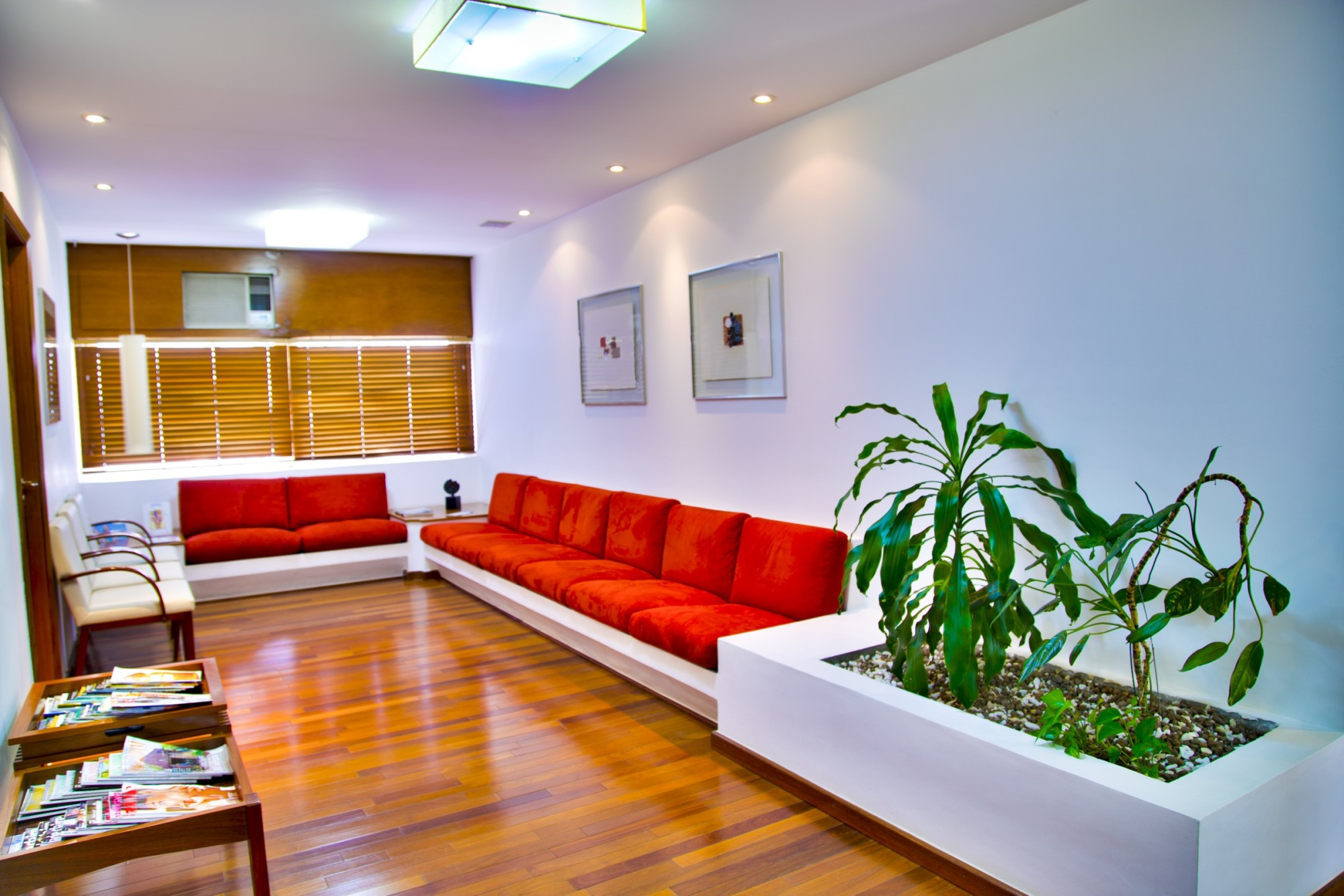 doctor waiting room fitout