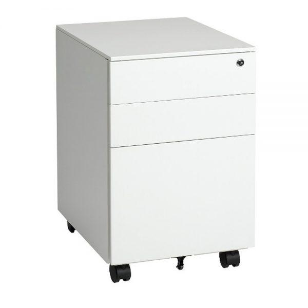 Mobile Pedestal - Two Box Drawers, 1 File Drawer 1